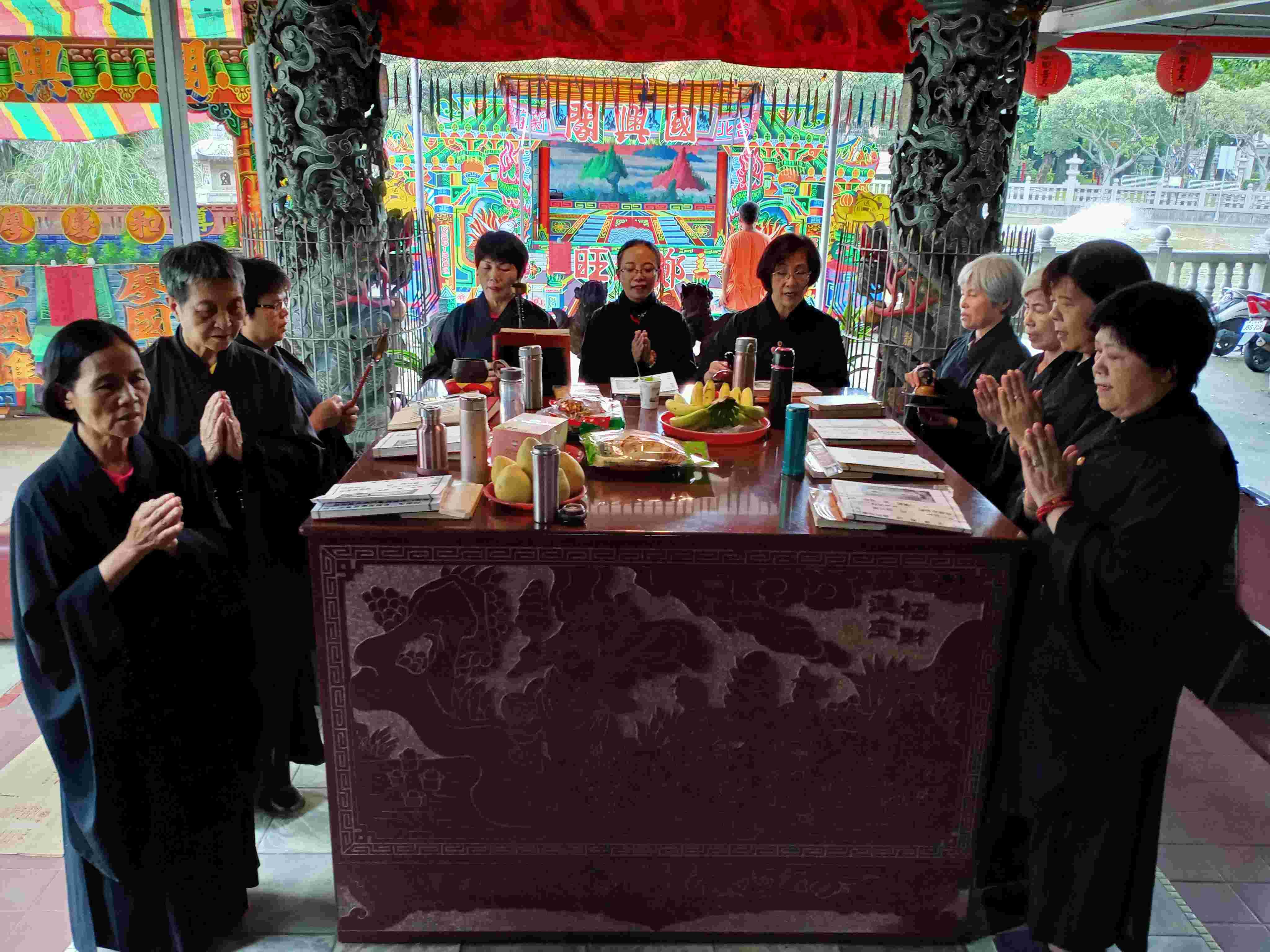 竹林山觀音寺誦經團教育訓練招生